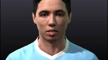 """PES 2011 """"Samir Nasri Face"""""""
