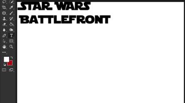 "Star Wars: Battlefront (2015) ""Шрифт для фотошопа"""
