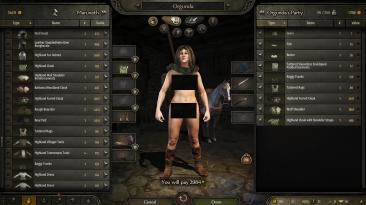 """Mount & Blade 2: Bannerlord """"Новая текстура обнаженного тела"""""""