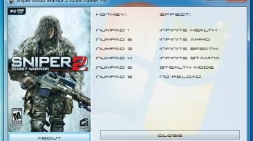 Sniper: Ghost Warrior 2 ~ Collector's Edition: Трейнер/Trainer (+6) [1.09] {GRIZZLY / PlayGround.ru}