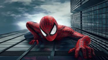 Косплей на Человека-Паука из The Amazing Spider-Man 2