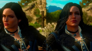 "Witcher 3: Wild Hunt ""Yennefer Blood and Wine ending scene fix\ Фикс модели Йеннифер в концовке DLC Кровь и Вино"""