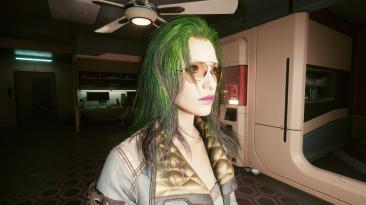 """Cyberpunk 2077 """"Индивидуальные цвета для волос"""""""