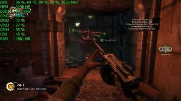 Геймплей BioShock Remastered в 4K Ultra HD на GeForce GTX 1060 6Gb