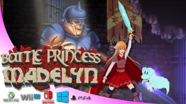 Двухмерный экшен Battle Princess Madelyn о девушке-рыцаре поступит в продажу осенью
