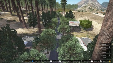 """Grand Theft Auto 5 """"Blaine County Scenery Improvement Project [YMAP] [Map Editor] 2.1"""""""