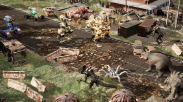 Участвуйте в тактических битвах между мехами и кайдзю в Mech Armada