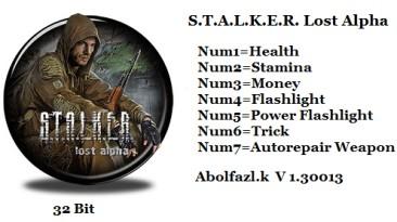 S.T.A.L.K.E.R: Lost Alpha: Трейнер/Trainer (+7) [1.30013: x32] {Abolfazl.k}