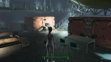 Fallout 4 - Бесчинство голой тётки с русской озвучкой