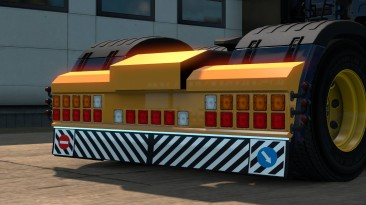 "ETS 2 ""Задний Бампер Для Scania Next Gen"""