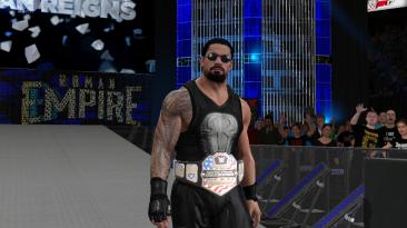 "WWE 2K17 ""Roman Reigns (Ponytail Beard + Shades) MOD"""