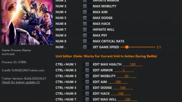 XCOM: Chimera Squad: Трейнер/Trainer (+12) [1.0] {FLiNG}