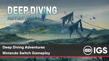 Deep Diving Adventures геймплей Switch версии