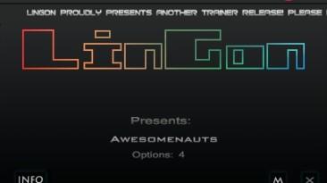 Awesomenauts: Трейнер/Trainer (+4) [1.3: Steam Version] {LinGon}