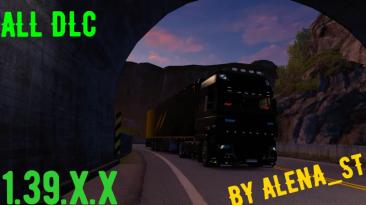 Euro Truck Simulator 2: Сохранение/SaveGame (Всё есть, всё открыто, 100% дорог) [ALL DLC] [1.39.X.X]