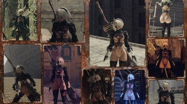 """NieR: Automata """"Mod 2B partially nude pack by Art-Of-The-Body"""""""