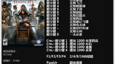 Assassin's Creed: Syndicate: Трейнер/Trainer (+21) [1.12 - 1.51] {FLiNG}