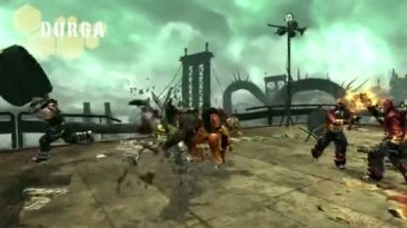"""Anarchy Reigns """"Durga Character Trailer"""""""