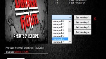 Darkest Hour: A Hearts of Iron Game: Трейнер/Trainer (+4) [1.04] {MrAntiFun}