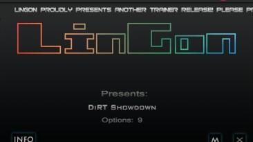 DiRT Showdown: Трейнер/Trainer (+5) [1.2.0: AVX & non AVX Version] {LinGon}