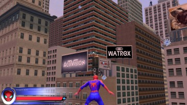 "Spider-Man 2: The Game ""Widescreen Profile"""
