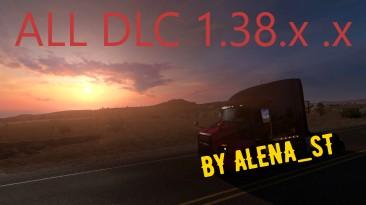 American Truck Simulator: Сохранение/SaveGame (100% Дорог) [Arizona / New Mexico / Oregon / Washington / Utah]
