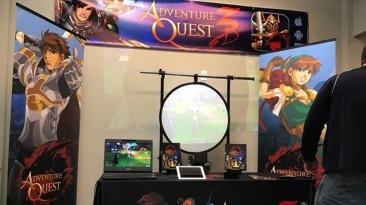 AdventureQuest 3D - новая зона и 1 миллион зарегистрированных игроков