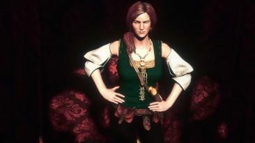 "Witcher 3: Wild Hunt 2одежда для Шани + прическа и.т.д"""
