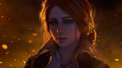 Косплей Трисс Меригольд из The Witcher 3: Wild Hunt