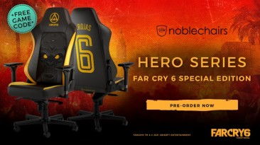 Noblechairs и Ubisoft разработали игровое кресло Far Cry 6 Special Edition