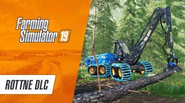 """Farming Simulator 19 получил дополнение """"Rottne"""" с мощными машинами для лесозаготовки"""