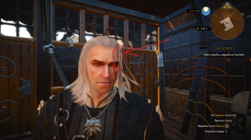 "Witcher 3: Wild Hunt ""Фикс волос"""