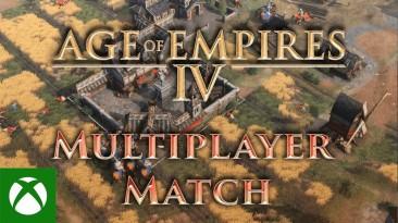 Новый геймплей Age of Empires IV демонстрирует полный матч между Священной Римской Империей и Русью