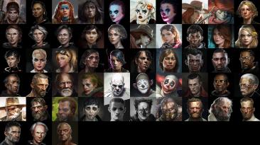 """Wasteland 3 """"Различные портреты персонажей"""""""