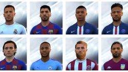 "FIFA 14 ""Сборник лиц из PC версии FIFA 20"""