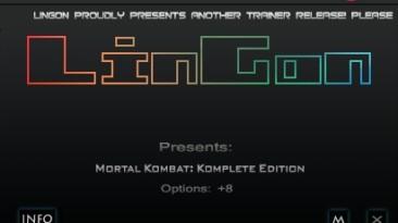 Mortal Kombat ~ Komplete Edition (2013): Трейнер/Trainer (+8) [1.0] {LinGon}