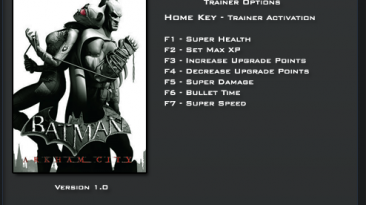 Batman: Arkham City ~ GOTY Edition: Трейнер/Trainer (+7) [1.0: Steam Version] {LinGon}