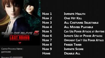 Dead or Alive 5 - Last Round: Трейнер/Trainer (+9) [1.02 - 1.09] {FLiNG}