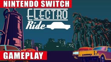 Видео игрового процесса неоновых гонок Electro Ride: The Neon Racing