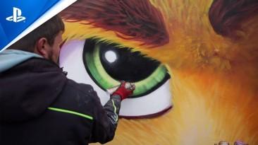 Sony показала, как создавались массивные настенные росписи PS5 и Ratchet & Clank: Rift Apart в Берлине