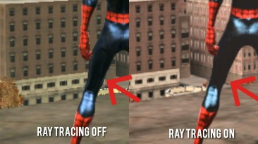 """Spider-Man: Web of Shadows """"Sweet FX 2.0 + Ray Tracing"""""""