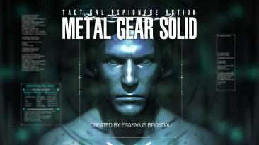 Интро Metal Gear Solid воссозданное Unreal Engine 4