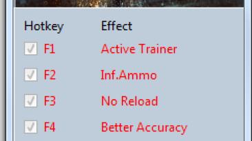 Battlefield 4: Трейнер/Trainer (+10) [Update 2] {MrAntiFun}