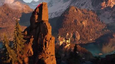 Альпы в новом трейлере The Climb