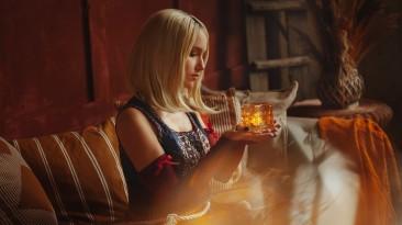 Косплей Кейры из The Witcher 3