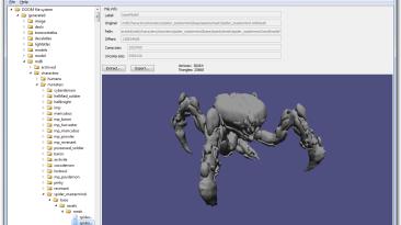 """Doom 4 """"DooM Resources Explorer v0.3"""""""