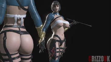 "Resident Evil: Village ""Леди - Сексуальная куноичи"""