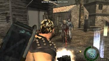 """Resident Evil 4 """"Chris Warrior Playable не для HD"""""""