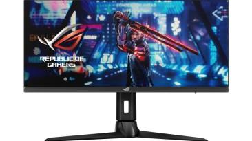 ASUS представила 29,5-дюймовый монитор для геймеров ROG Strix XG309CM