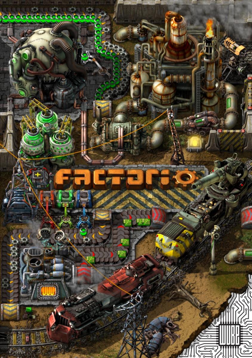 Файлы Factorio - патч, демо, demo, моды, дополнение